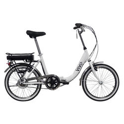 """Bici pieghevole Vivobike 20"""" retrò elettrica a pedalata assistita"""