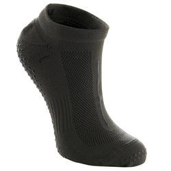 Antislip sokken voor fitness ademend groen