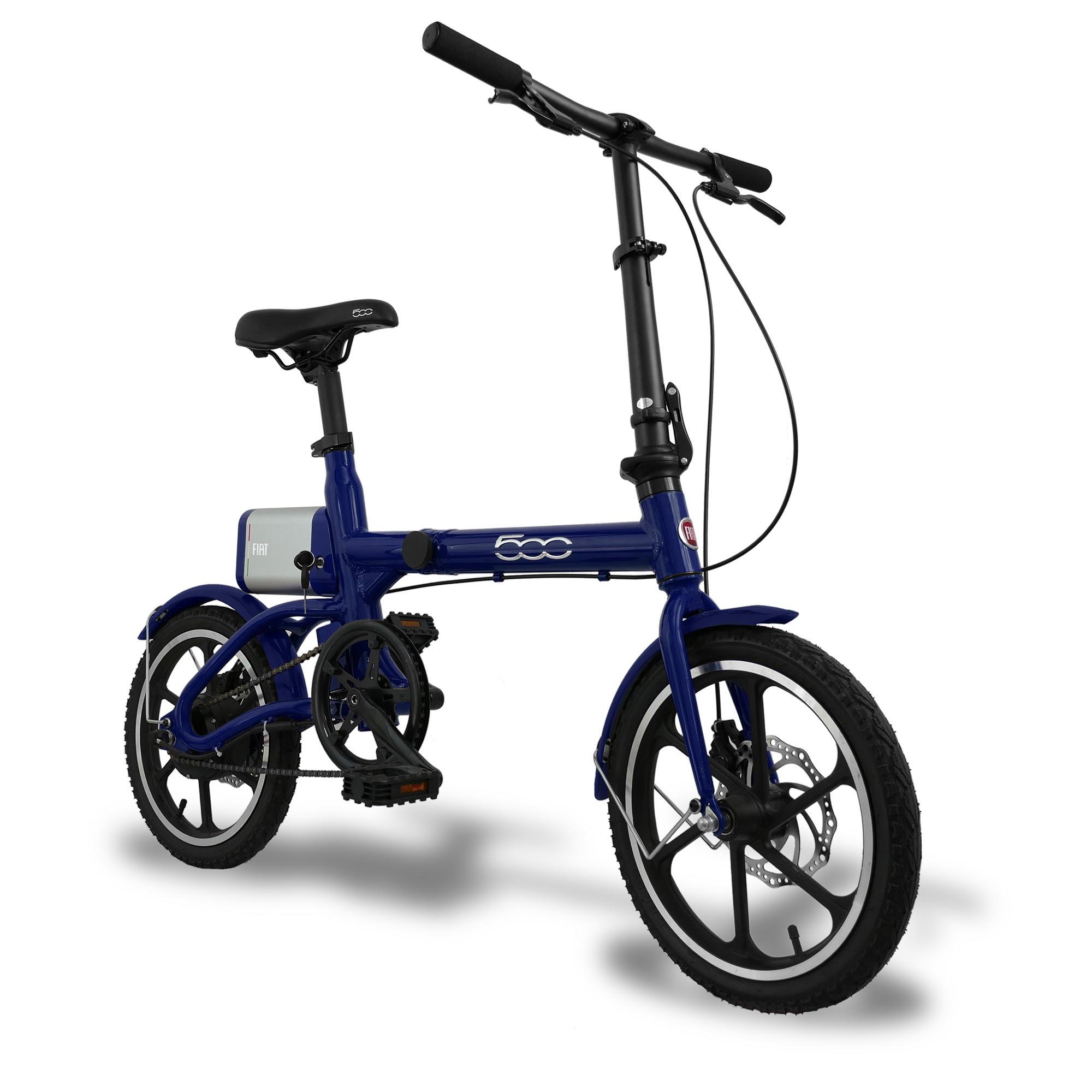 """Bici pieghevole elettrica a pedalata assistita 16"""" FIAT ..."""