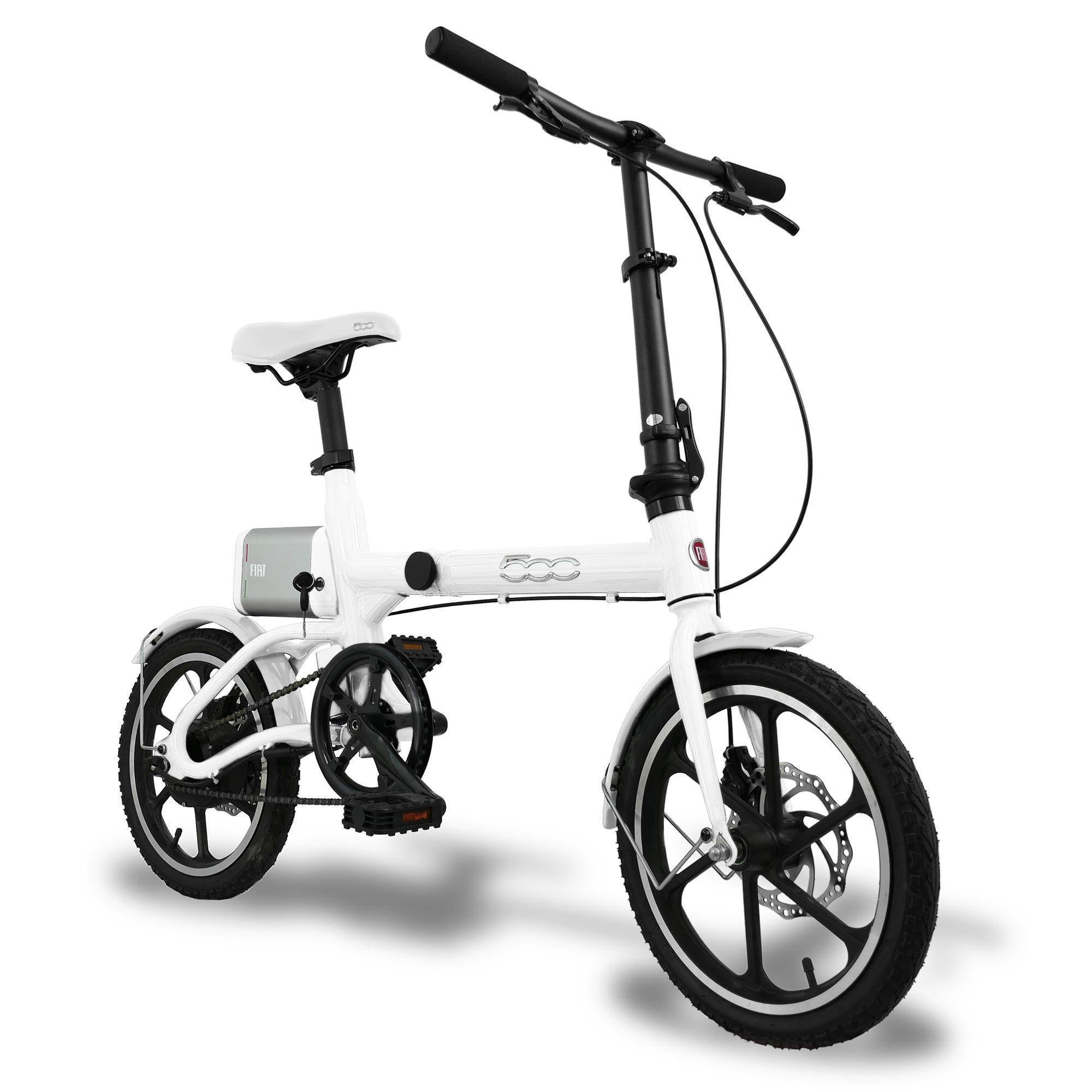 Bici pieghevole elettrica a pedalata assistita FIAT 16 ...