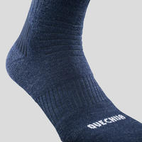 Chaussettes de randonnée chaudes SH100 X-Warm – Adultes