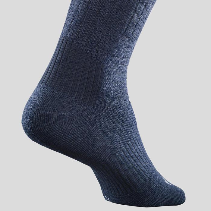 Chaussettes chaudes tige mid de randonnée - SH100 X-WARM - adulte X2 paires.