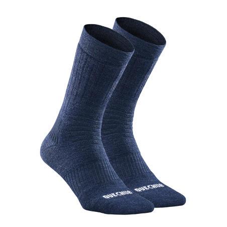 SH100 X-Warm Mid-height Hiking Socks - Adults