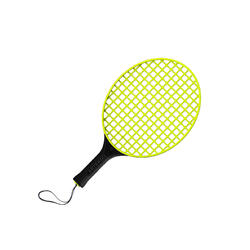 Speedball Racket Turnball - Yellow