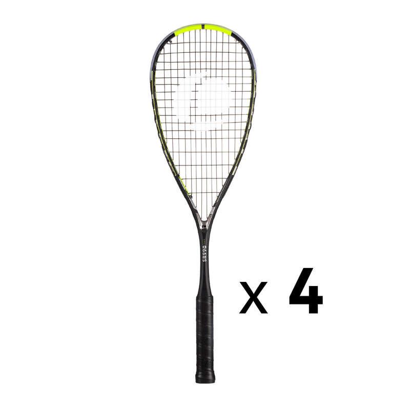 DECAPRO FALLABDA FELSZERELÉSEK Squash, padel - Squash ütő szett SR990 Power OPFEEL - Squash, padel