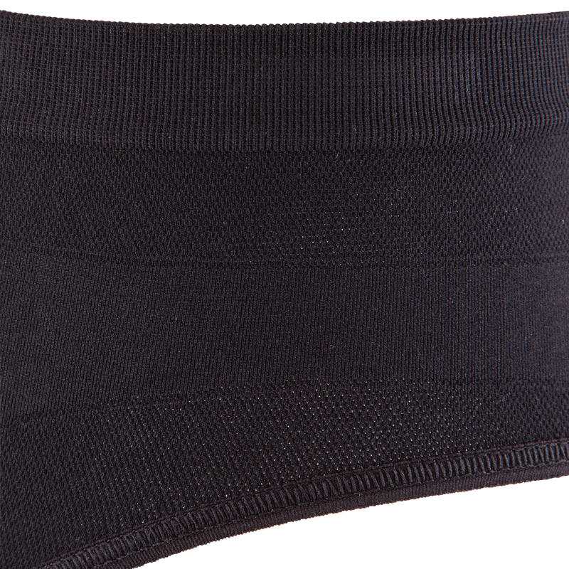 WOMEN'S BREATHABLE RUNNING BRIEFS - BLACK