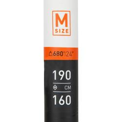 PAGAIE STAND UP PADDLE 500 TUBE FIBRE CARBON DEMONTABLE REGLABLE 170-210 CM - M