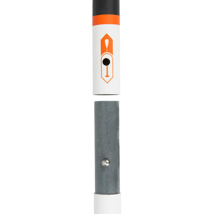 PAGAIE STAND UP PADDLE 500 TUBE FIBRE CARBON DEMONTABLE REGLABLE 150-190 CM - M