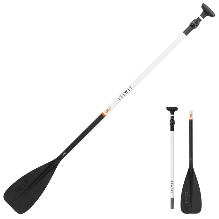 STAND UP PADDLE 500 COLLAPSIBLE ADJUSTABLE CARBON SHAFT 170-210 CM - M