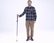 Test du réglage du bâton de trek ultra-compact