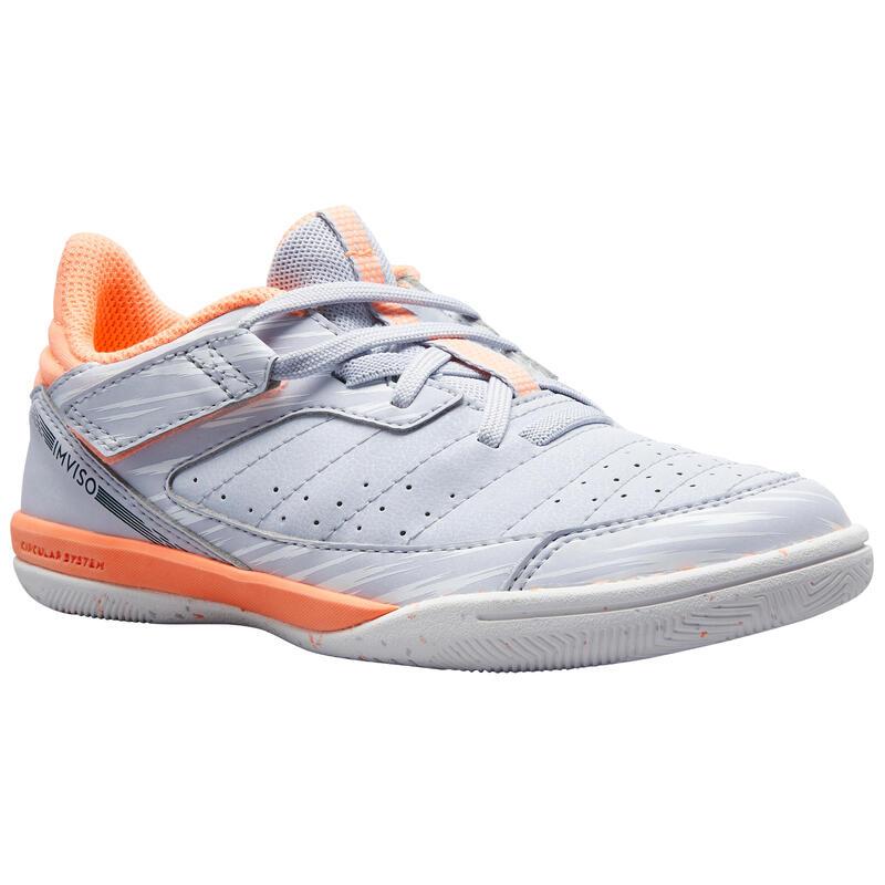Chaussures de Futsal ESKUDO 500 KD Coral Rose