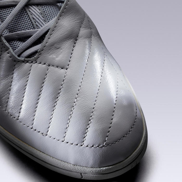 Chaussure de Futsal GINKA 900 cuir gris