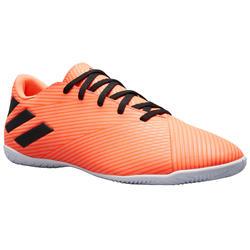 Zaalvoetbalschoenen NEMEZIZ 4 oranje/zwart