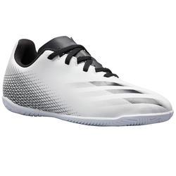 Zaalvoetbalschoenen voor kinderen X4 zwart/wit
