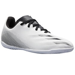 Scarpe futsal bambino X4 bianco-nero
