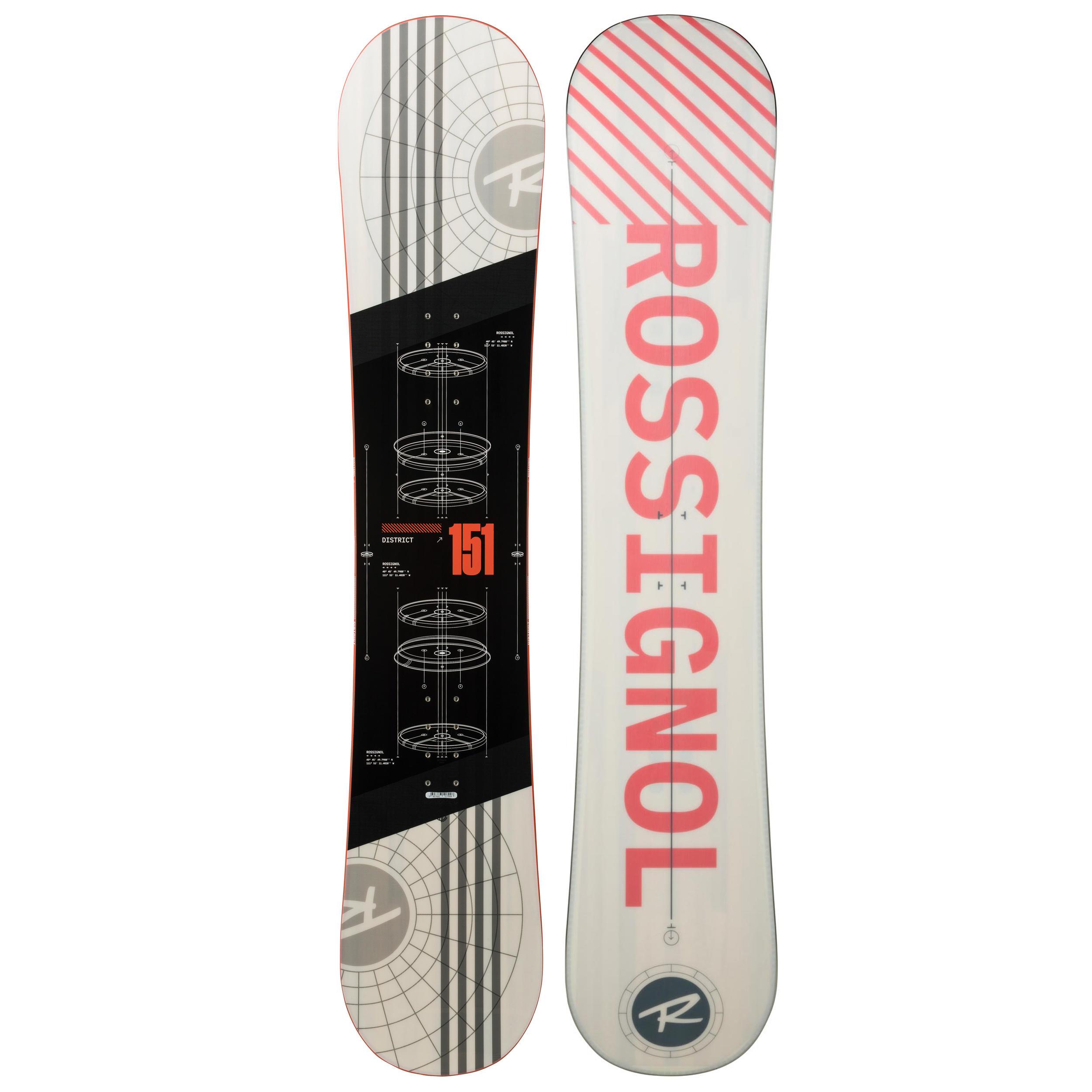 Tavole E Attacchi Snowboard Decathlon