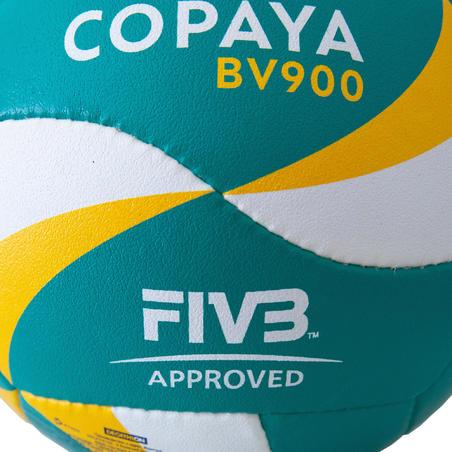 Bola Voli Pantai FIVB BVB900 - Hijau/Kuning