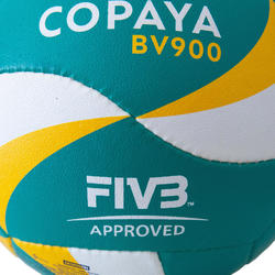 FIVB Beach Volleyball BVB900 - Green/Yellow