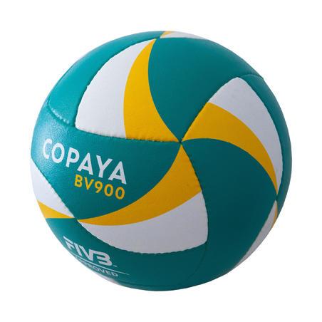 "Pludmales volejbola bumba ""BVB900 FIVB"", zaļa/dzeltena"