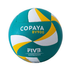 FIVB Beach Volleyball BVB900 - Green/Yellow