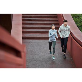 Sweat capuche jogging homme RUN WARM+ beige