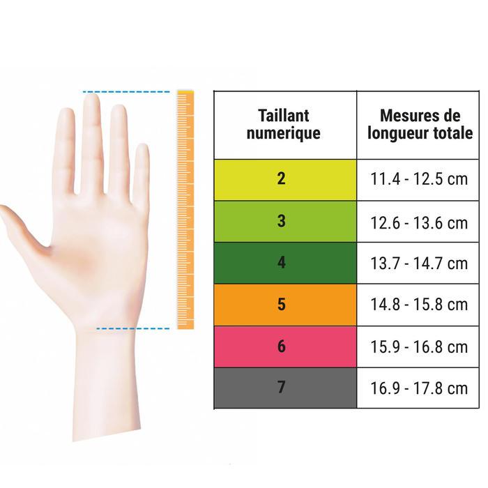 Keepershandschoenen voor kinderen F100 Resist zwart/geel