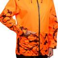 REFLEXNÍ OBLEČENÍ NA HON A NAHÁŇKU Myslivost a lovectví - BUNDA SUPERTRACK 100 W SOLOGNAC - Myslivecké oblečení