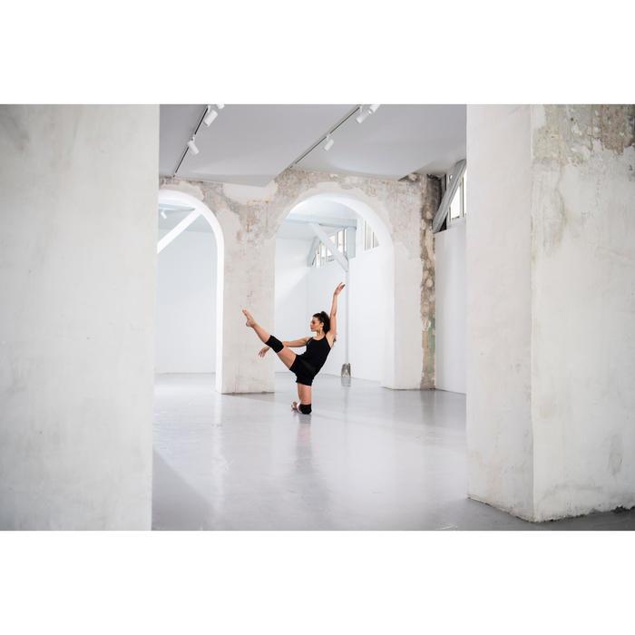 Genouillères de danse moderne et danses urbaines noires femme