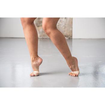 Pédilles de danse modern'jazz et contemporaine chair