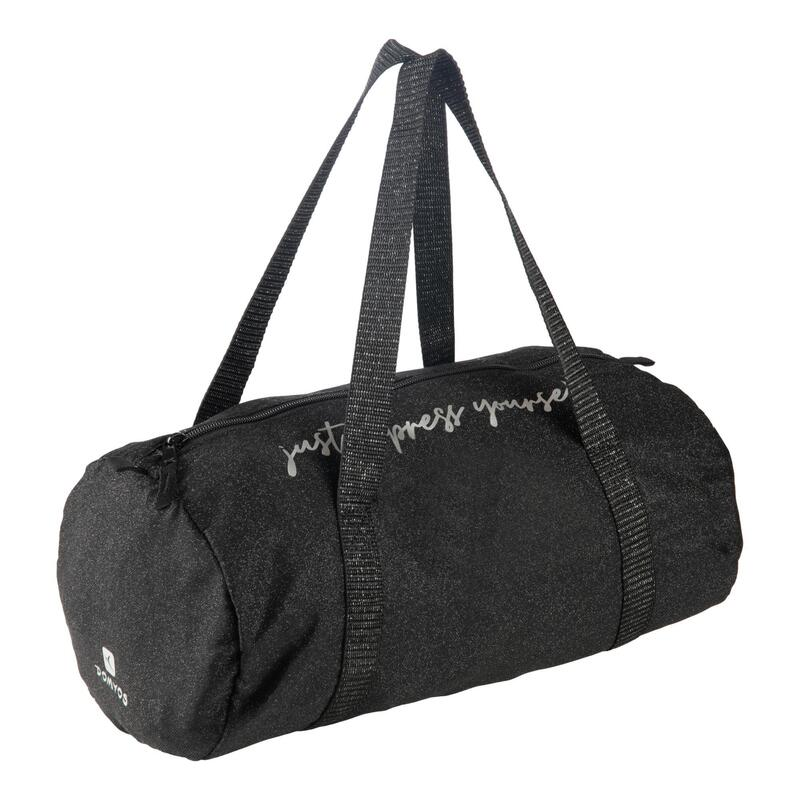 Girls' Dance Barrel Bag - Black