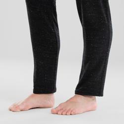 Pantalon danse moderne noir carott ajustable femme