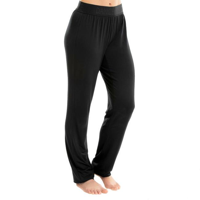 Women's Adjustable Modern Dance Bottoms - Black