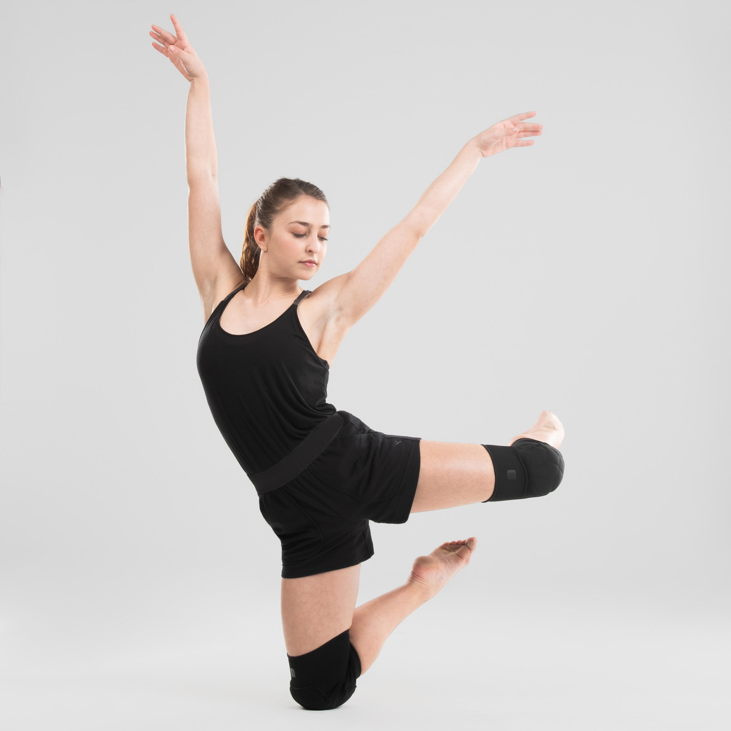 Genunchiere de Dans Negru Damă imagine