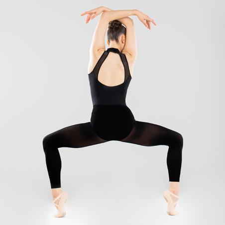 High-Necked Ballet Leotard – Women