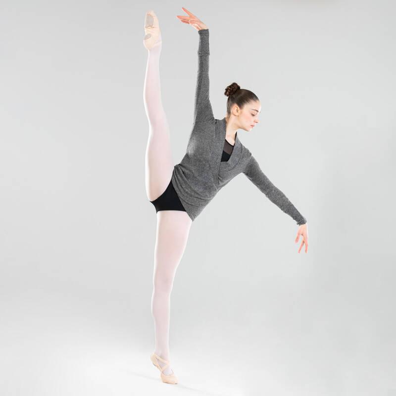 DÁMSKÉ TRIKOTY, OBLEČENÍ NA BALET Balet - BALETNÍ ZAVINOVACÍ BLŮZA STAREVER - Balet