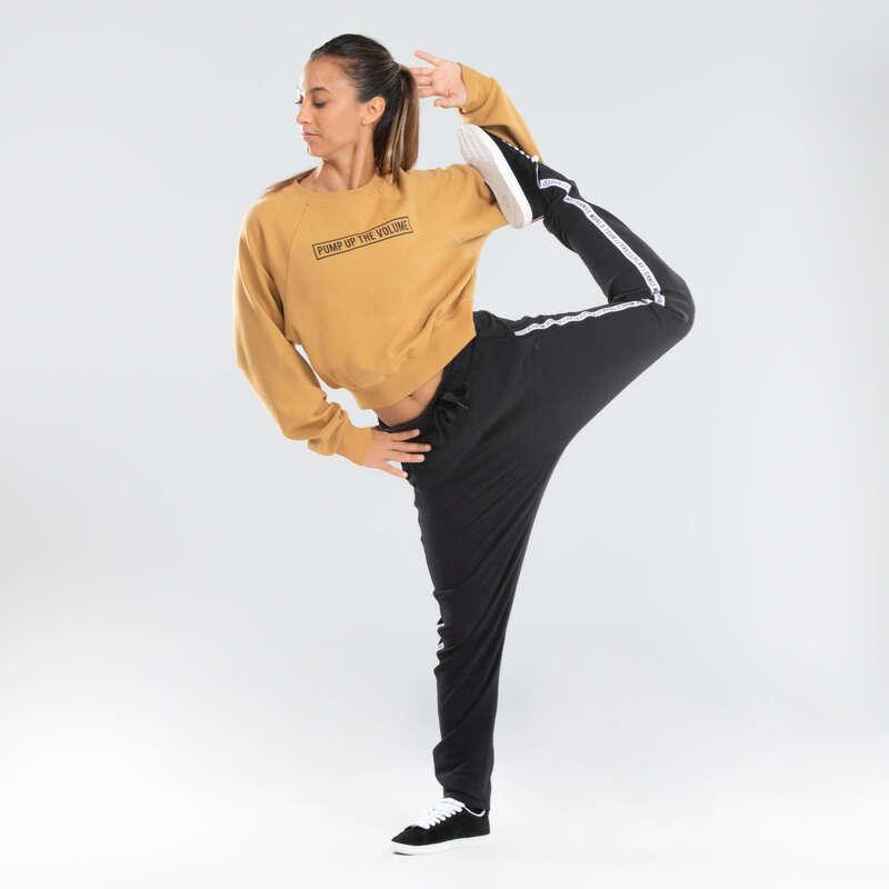 Odzież do Urban/Hip Hop Dance Taniec, Gimnastyka - Bluza crop do tańca  DOMYOS - Odzież do tańca