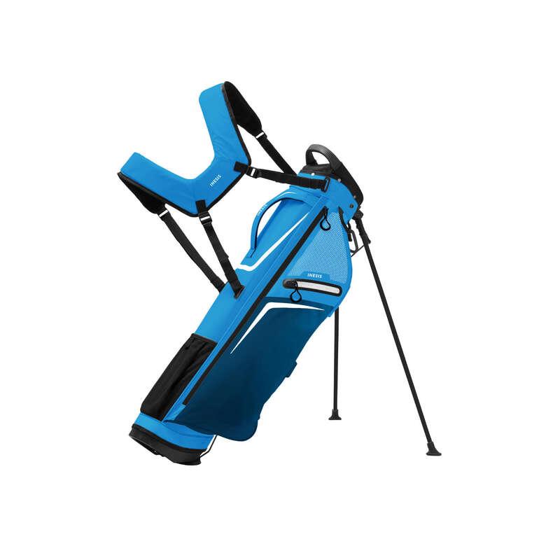 GOLFTÁSKÁK KEZD#KNEK Golf - Golftáska Ultralight, kék  INESIS - Golf