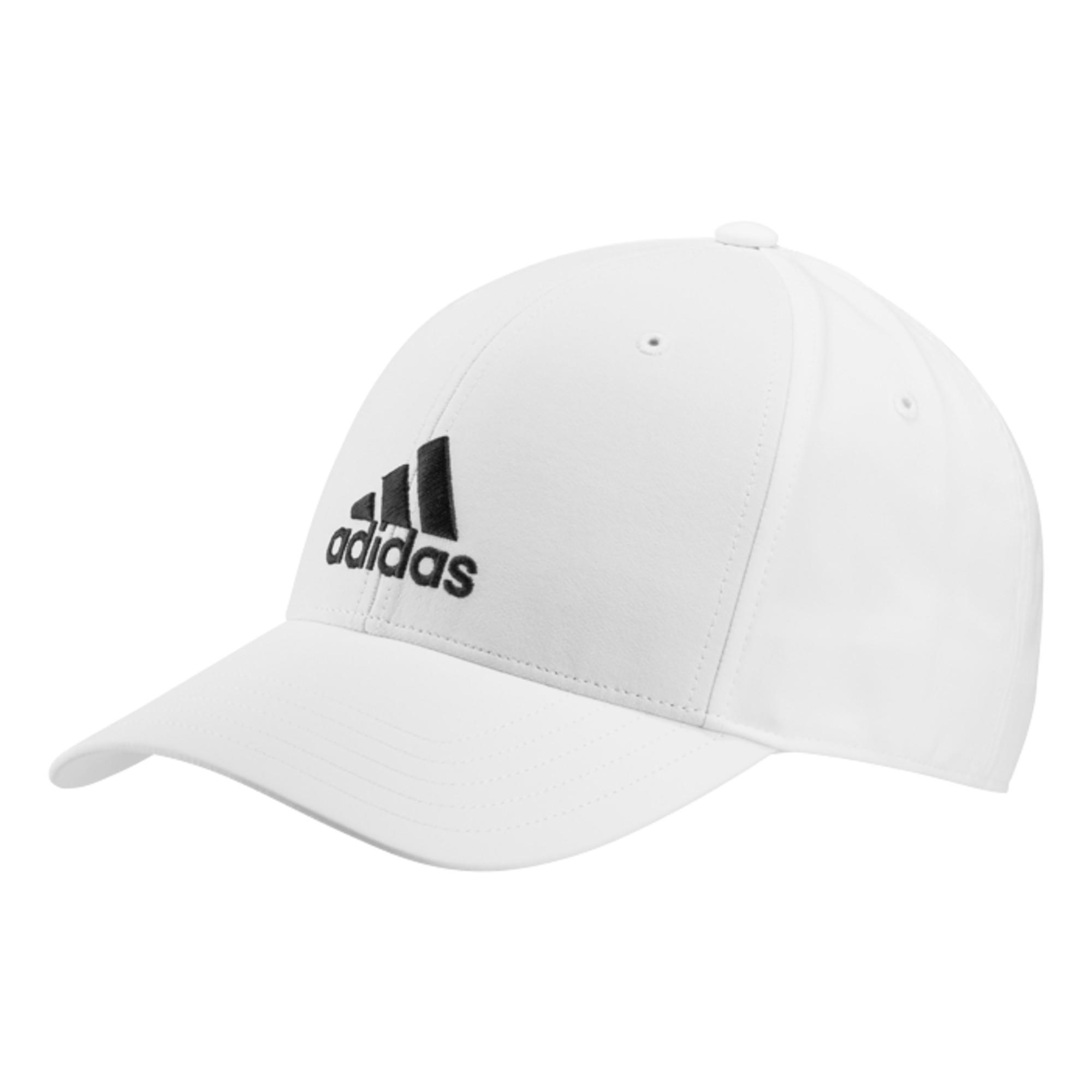 Schirmmütze Tennis-Cap Gr. 58 weiss