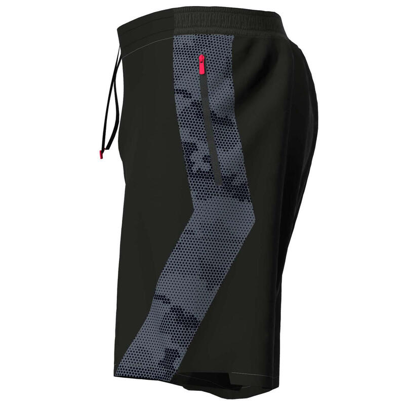 Fitness Training Shorts - Printed Grey