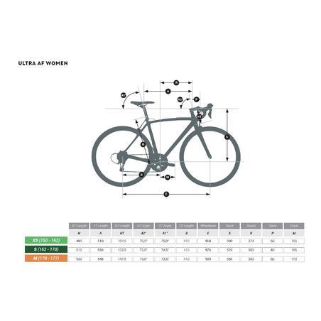 Vélo de route Ultra RCR Tiagra - Femmes