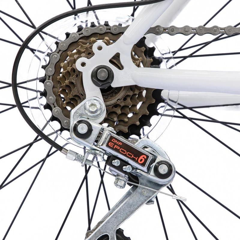 จักรยานเสือภูเขารุ่น Rockrider ST 30 (สีขาว)