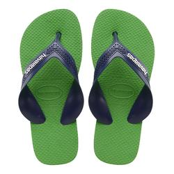 TONGS JUNIOR HAVAIANAS Kid Max Vert Bleu
