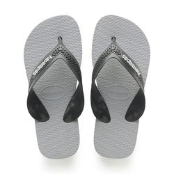 TONGS JUNIOR HAVAIANAS Kid Max Noir Gris