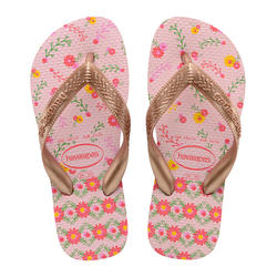 TONGS JUNIOR HAVAIANAS Flores Rose