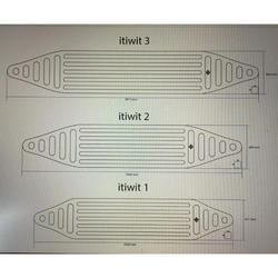 Opblaasbare bodem V5 voor kajaks ITIWIT 1 en ITIWIT 1 NEW