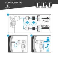 100 Floor Pump