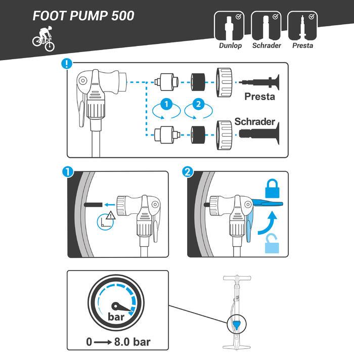 500 Floor Pump