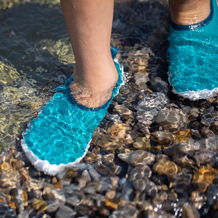 Waterschoenen kind 100 turquoise