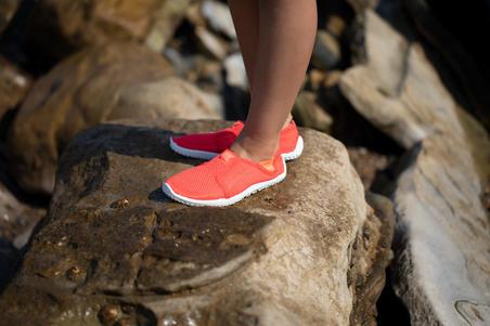 Escarpines Cangrejeras Zapato Acuática De Río Snorkel Subea 120 Coral