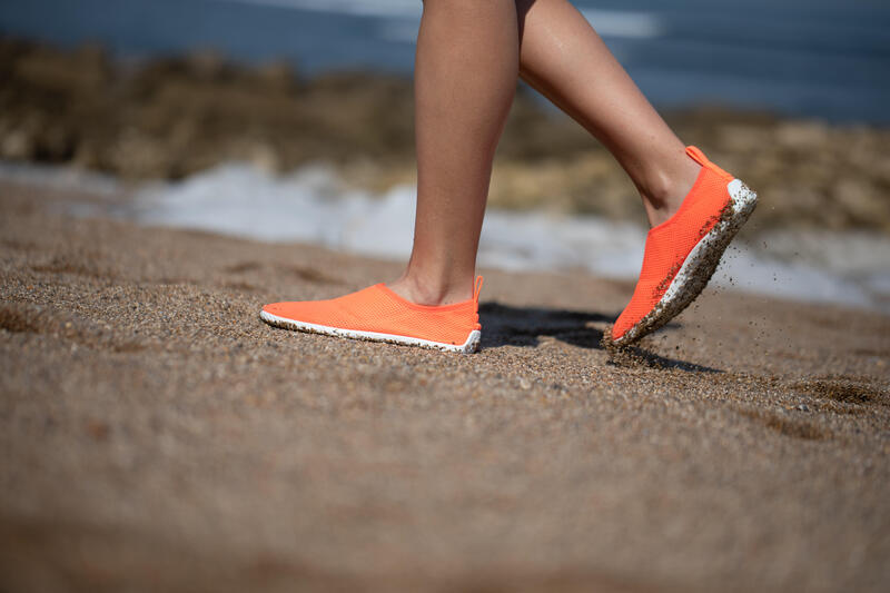 Chaussures aquatiques Aquashoes 100 Corail